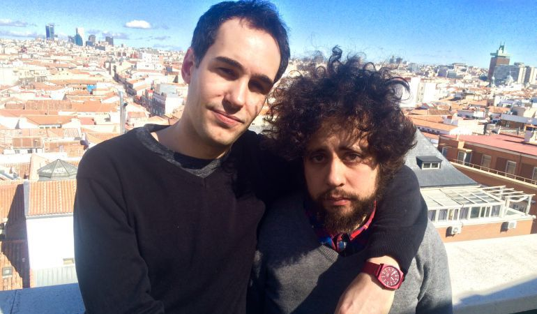 Xavi Puig (izquierda) y Kike García, directores de 'El Mundo Today'