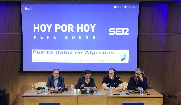 De izquierda a derecha, Salvador de la Encina, Pepa Bueno, Luis Esteban y José Chamizo