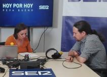"""Pablo Iglesias: """"Una participación baja sería un fracaso y nos obligaría a dimitir"""""""