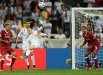 Gareth Bale hizo el segundo para el Madrid de chilena.