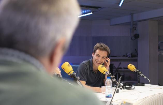 Ricardo Gómez durante su entrevista en La Ventana con Carles Francino