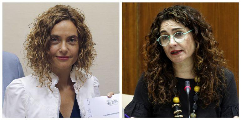 Meritxell Batet y María Jesús Montero, nuevas ministras.