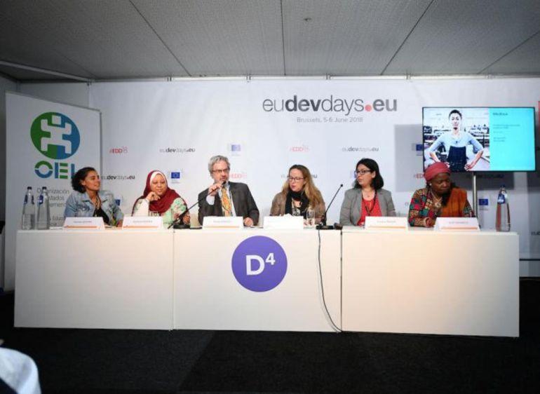 Conferencia el los Días Europeos de Desarrollo 2018