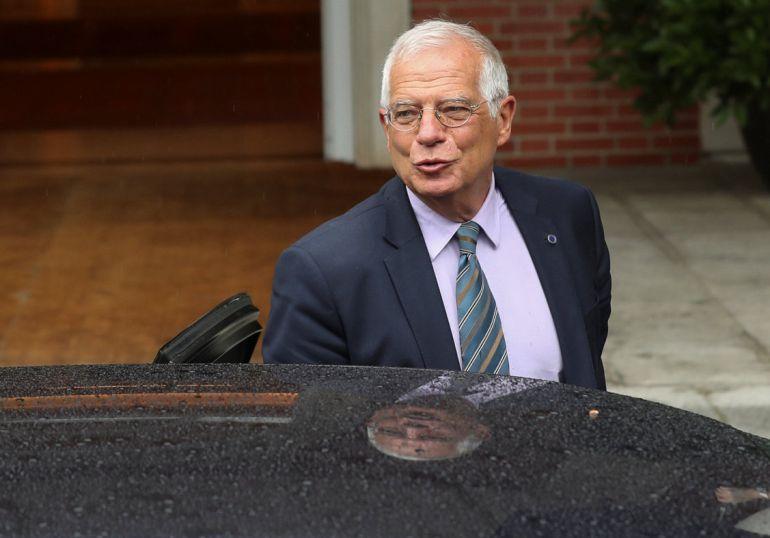 Josep Borrell, el pasado viernes a su llegada al Consejo de Ministros