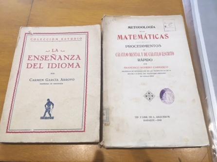 Libro de Francisco Romero Carrasco para enseñar a sus alumnos.