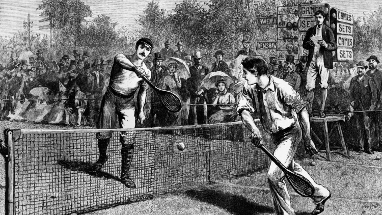 Wimbledon, uniforme blanco, jueces de verde y fresas con nata de Kent