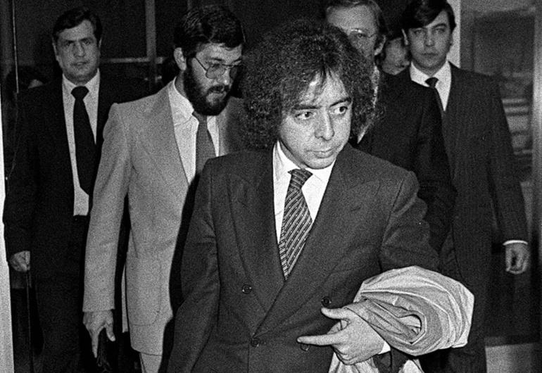El expolicía franquista Juan Antonio González Pacheco, alias 'Billy el Niño', en una imagen de 1981