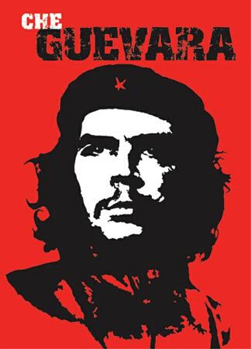 Un cartel  del mítico guerrillero Ernesto 'Che' Guevara