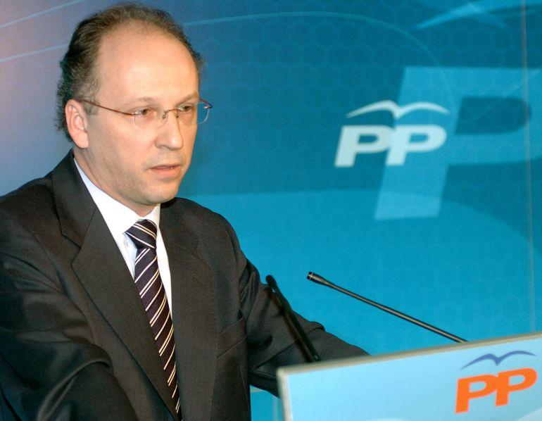 El secretario de Comunicación del PP, Gabriel Elorriaga, en una foto de febrero de 2006.