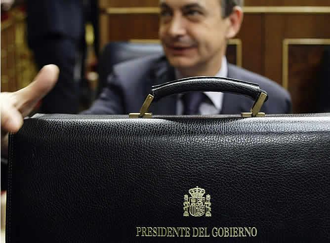 """Zapatero: """"Estoy más contento que en 2004"""""""
