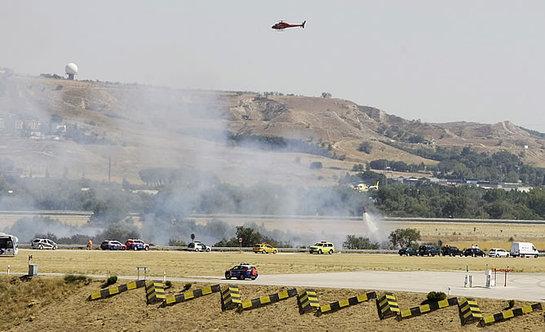FOTOGALERIA: Accidente de avión en Barajas