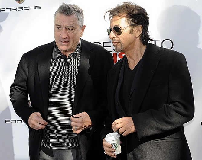 "Al Pacino: ""Trabajar con De Niro me da menos miedo que con ..."