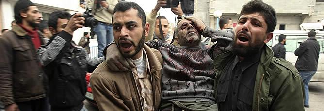 Hamás cifra en varias decenas el número de muertos provocado por el bombardeo del Ejército israelí en Gaza, mientras que fuentes de Autoridad Nacional Palestina aseguraran que los fallecidos superan los 120