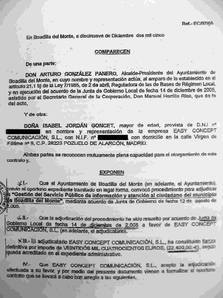 Caso g rtel la fiscal a y garz n piden informaci n sobre - Oficina de atencion al ciudadano madrid ...