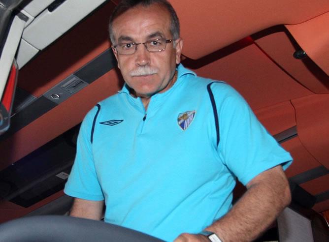 Antonio Tapia a su llegada a Barcelona