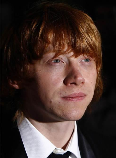 El actor interpreta a Ron Weasley, el mejor amigo de Harry Potter.
