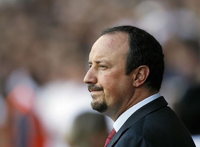 Rafa Benítez, técnico del Liverpool