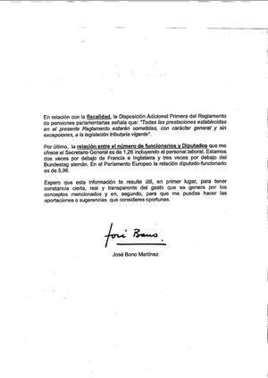El presidente del Congreso asegura que el presupuesto del Congreso sólo supera en cuatro millones lo que pagó el Madrid por Cristiano