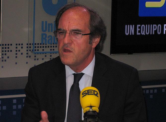 Ángel Gabilondo, ministro de Educación, en 'Hora 25'