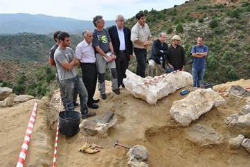 El mayor dinosaurio de Europa, descubierto en Teruel