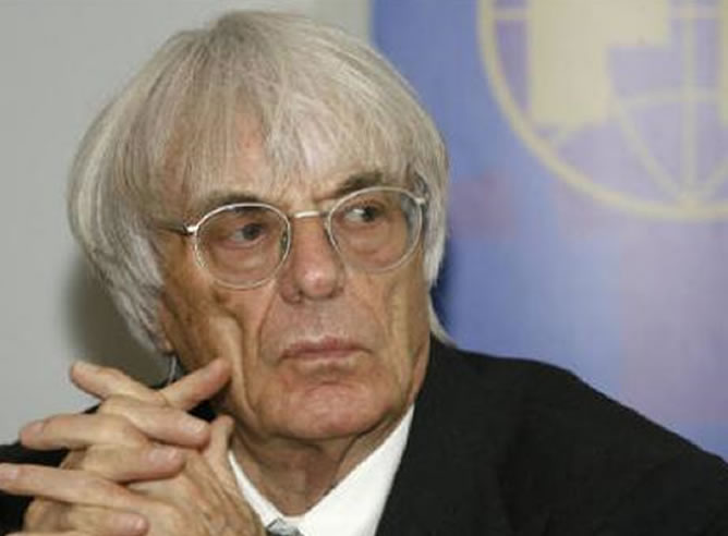 Bernie Ecclestone, presidente y CEO de la Formula One Management y Formula One Administration