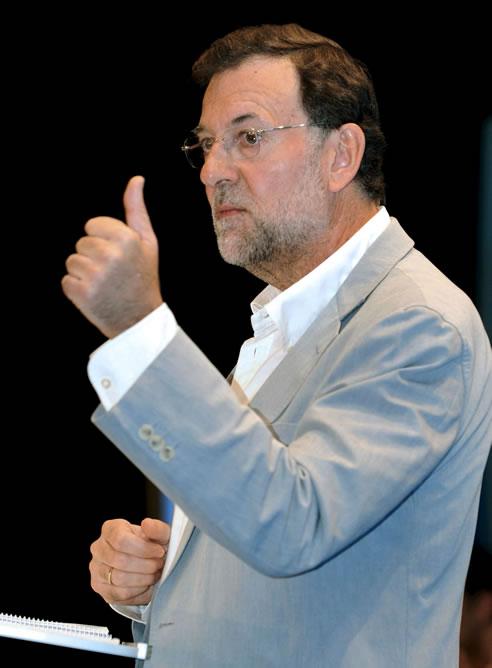 El presidente del PP, Mariano Rajoy / EFE