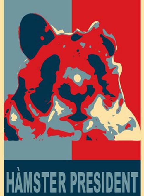 """""""Un hámster sería capaz de hacerlo igual o mejor que los políticos actuales"""", dice la campaña"""