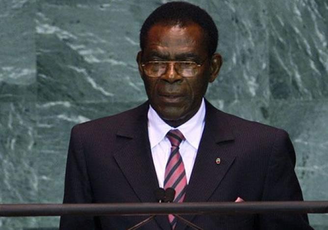 Teodoro Obiang Nguema está en el poder en Guinea Ecuatorial desde 1979.