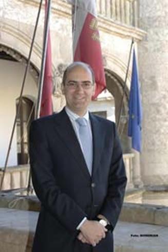 Javier Iglesias, presidente del PP de Salamanca y alcalde de Ciudad Rodrigo