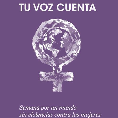"""""""Tu voz cuenta"""", nueva campaña contra la violencia de género"""