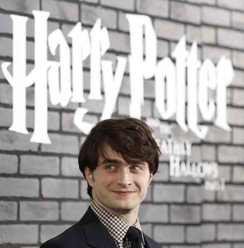 El actor Daniel Radcliffe, protagonista del flim