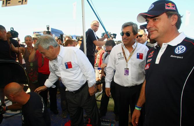 Carlos Sainz pierde el liderato y Marc Coma amplía su ventaja