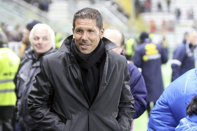 Simeone, ex jugador del Atlético