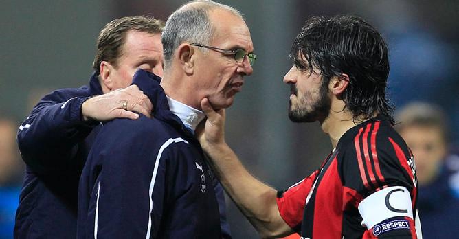 La UEFA abre expediente a Gennaro Gattuso por su agresión a Joe Jordan | Deportes | Cadena SER