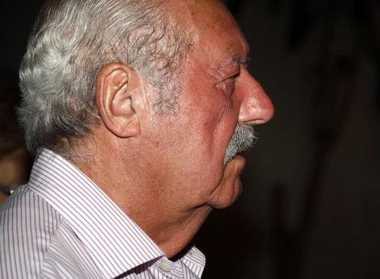 FOTOGALERIA: Tejero, a su entrada a un restaurante de La Palma este jueves