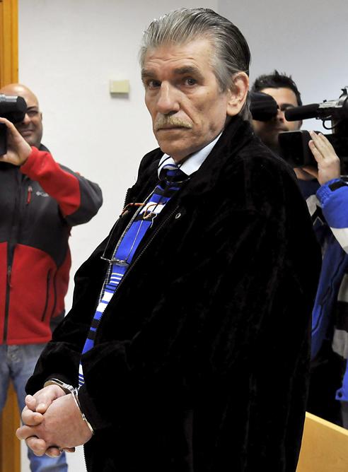 Fotografía de archivo de Miguel Montes Neiro, considerado el preso común más antiguo de España