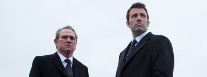 "Tommy Lee Jones y Ben Affleck en una escena de ""The Company Men"""