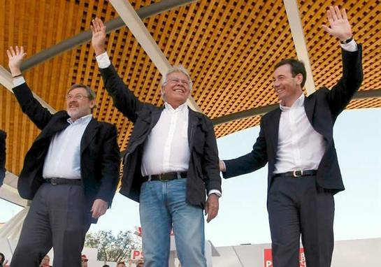 FOTOGALERIA: Felipe González da su apoyo a los candidatos socialistas en Madrid