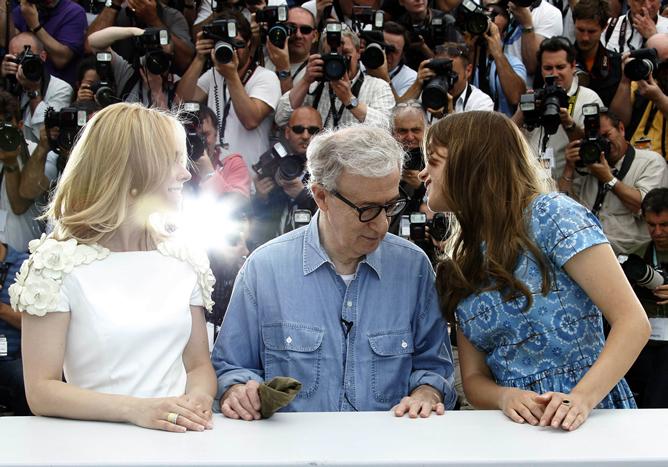 El director conversa con Rachel McAdams y Lea Seydoux horas antes de que su película abra el Festival de Cannes 2011