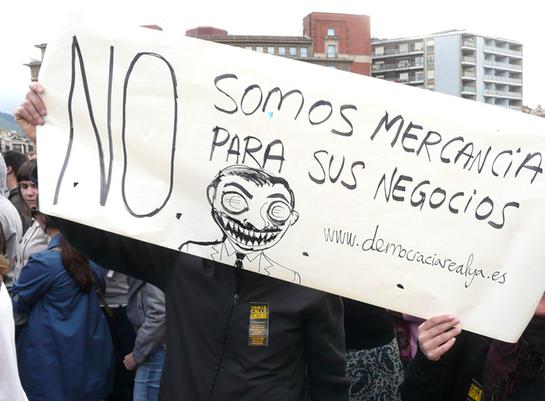 FOTOGALERIA: 'No somos mercancía para sus negocios'