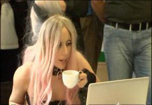 """Lady Gaga defiende el """"amor"""" en la Marcha del Orgullo Gay de Roma"""