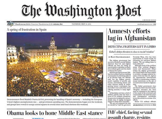 FOTOGALERIA: La puerta del Sol en el The Washington Post
