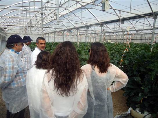 FOTOGALERIA: El equipo de 'Hora 25' se interesa por los cultivos almerienses