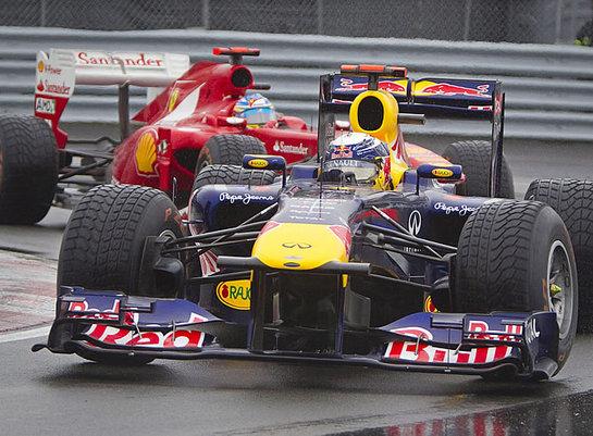 FOTOGALERIA: Vettel vuela en Canadá