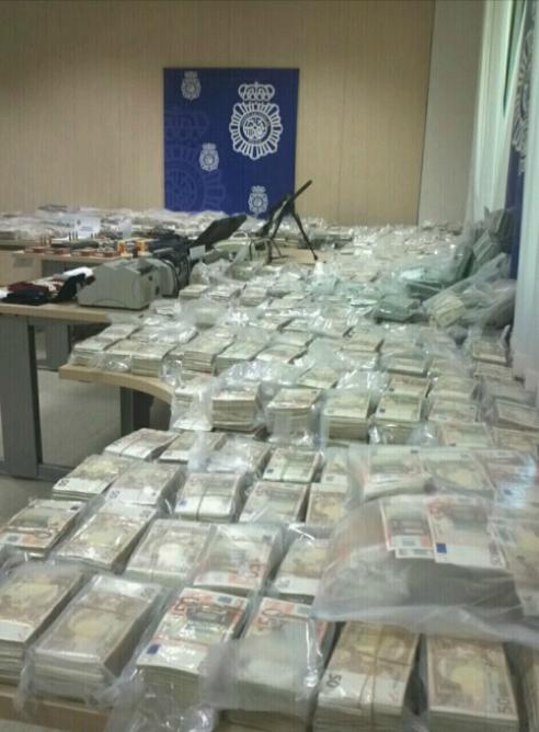 ¿Dónde acaba el dinero incautado a los narcos?