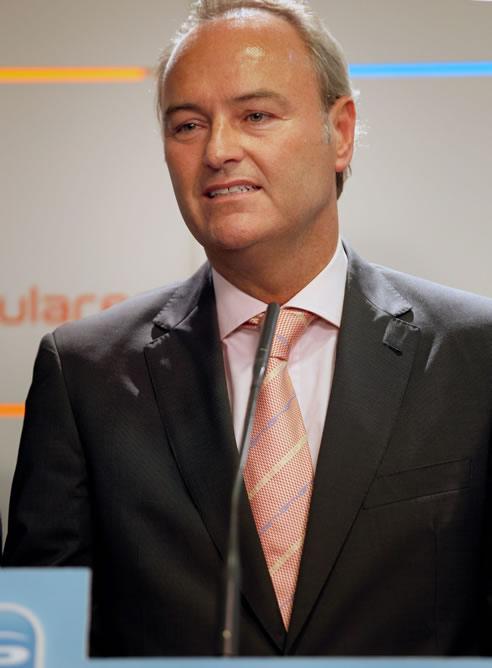 Alberto Fabra, presidente de la Generalitat valenciana, en una foto de archivo