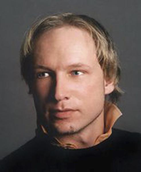 Anders Behring Breivik es el supuesto autor del tiroteo de la isla de Utoya y el atentado terrorista de Oslo