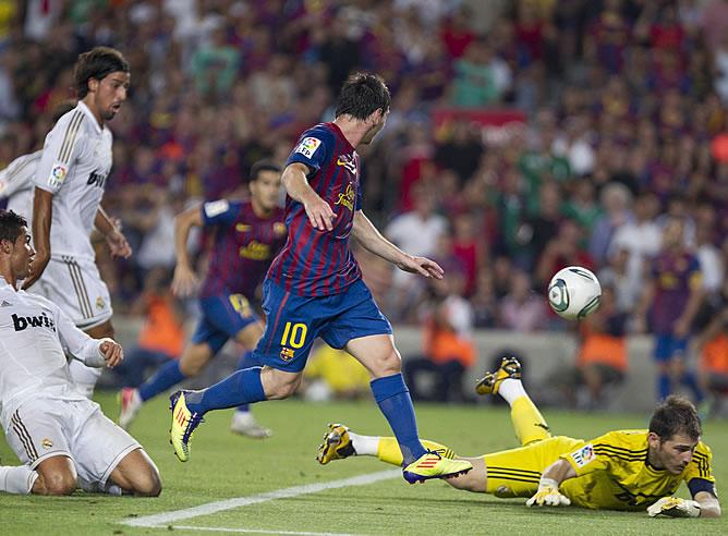 La 'Pulga' firma el segundo gol azulgrana