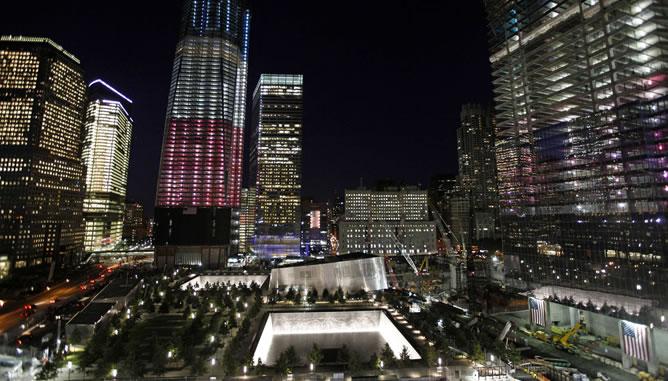 Preparativos en el World Trade Center para el décimo aniversario del 11S