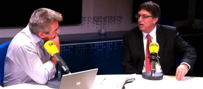Carles Francino ha entrevistado al embajador de Israel en España, Alon Bar